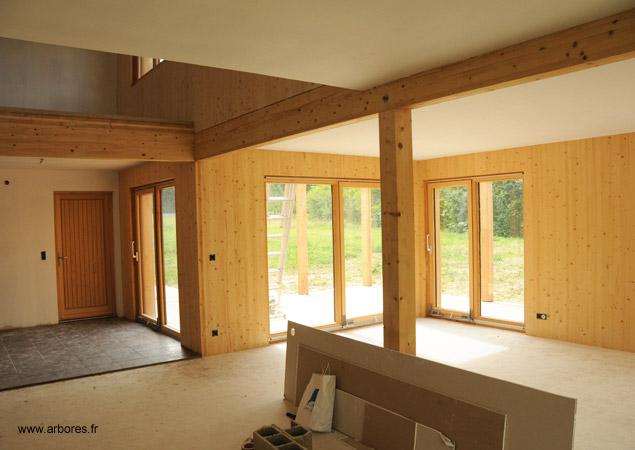 Sacet construction ossature bois et maison passive et rt2012 - Delai pour construire une maison ...