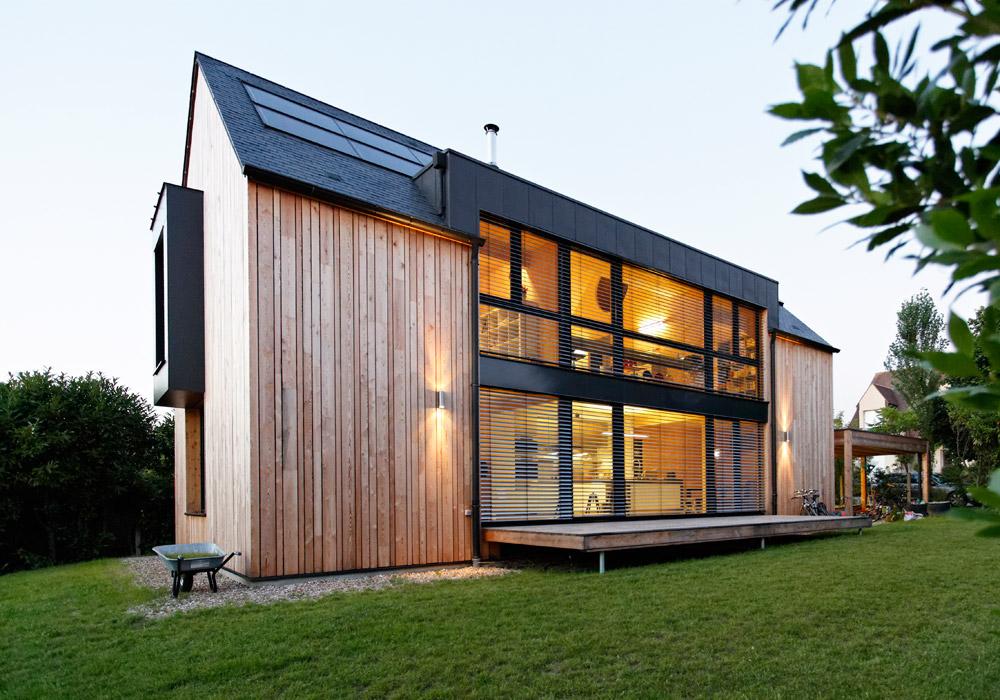 logements individuels sacet bourgogne ossature bois. Black Bedroom Furniture Sets. Home Design Ideas