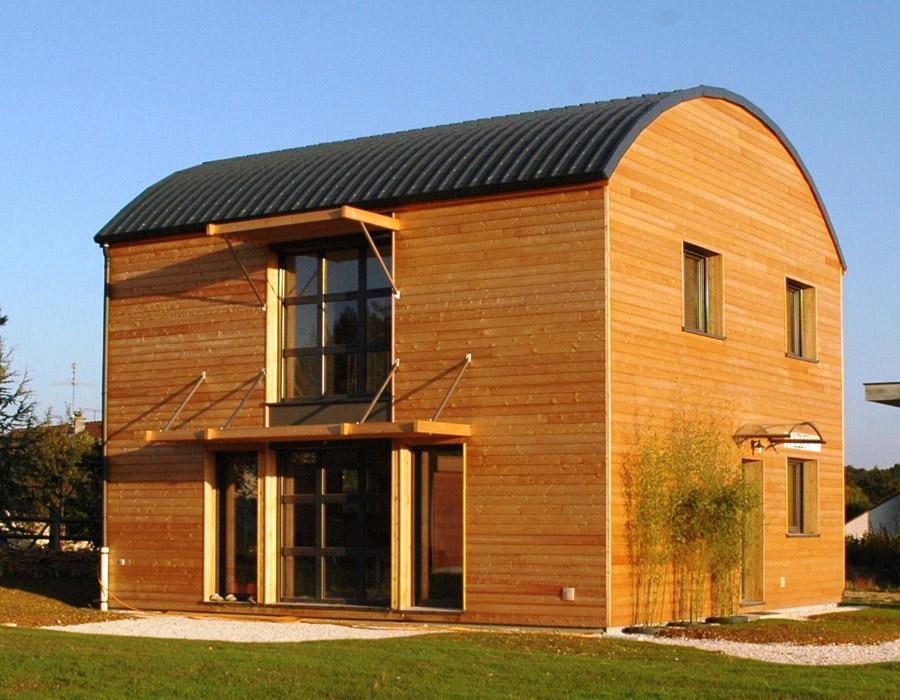 Sacet constructeur en bourgogne de maisons ossatures bois for Constructeur ossature bois