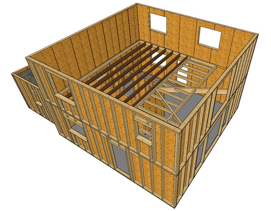 Sacet constructeur en Bourgogne de maisons ossatures bois  # Logiciel Plan Ossature Bois Gratuit
