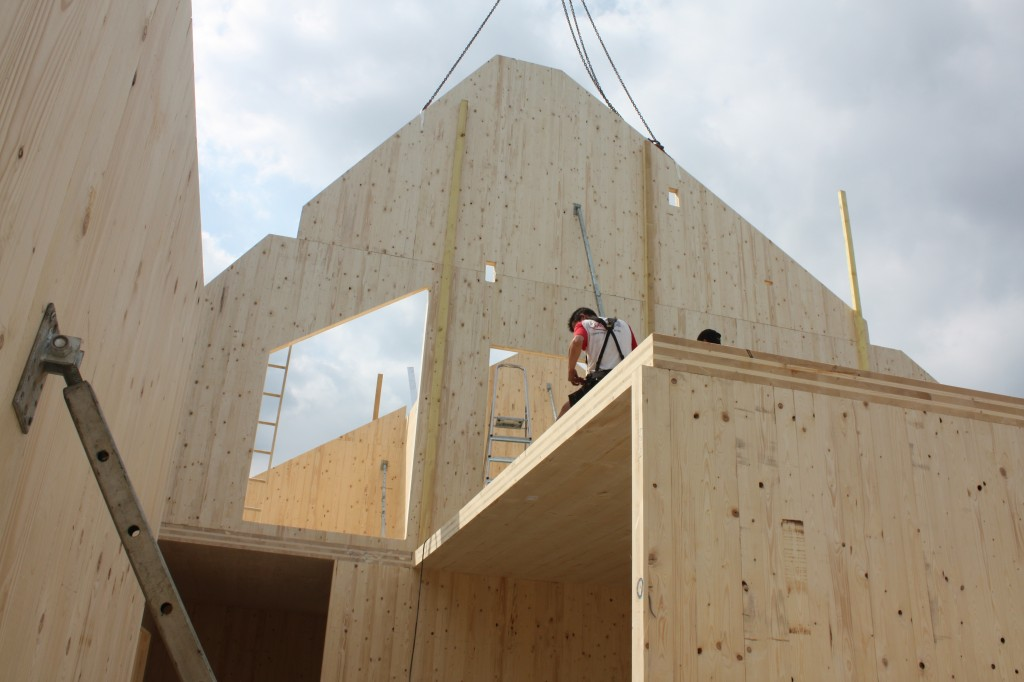 construction bois klh